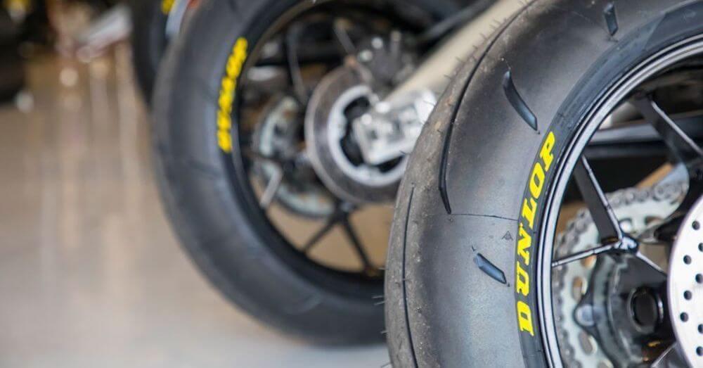 Über Dunlop Motorradreifen