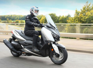 Maxi-Scooter Rollerreifen Test 2019