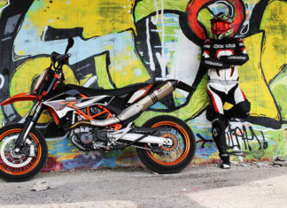 Supermoto Motorradreifen Test 2019