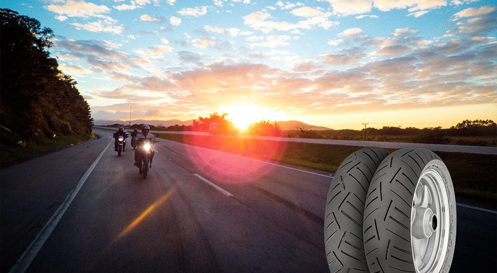 Motorradreifen mit höchster Laufleistung Test