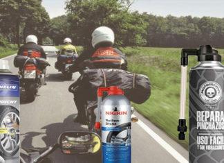 Reifenpannenspray Motorrad Test