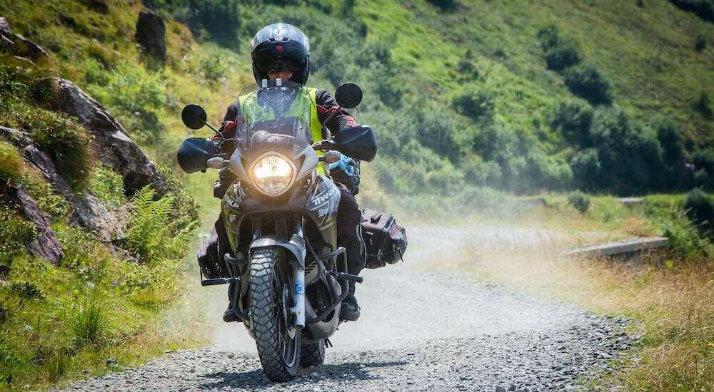Motorrad Reifendruckkontrollsystem im Test