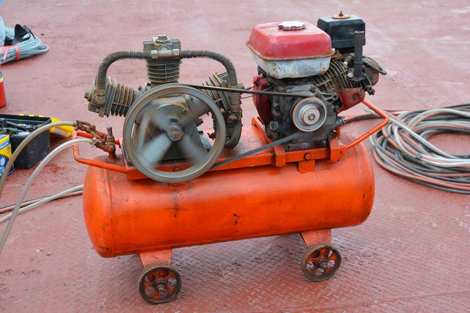 Motorradsreifen Luftkompressor