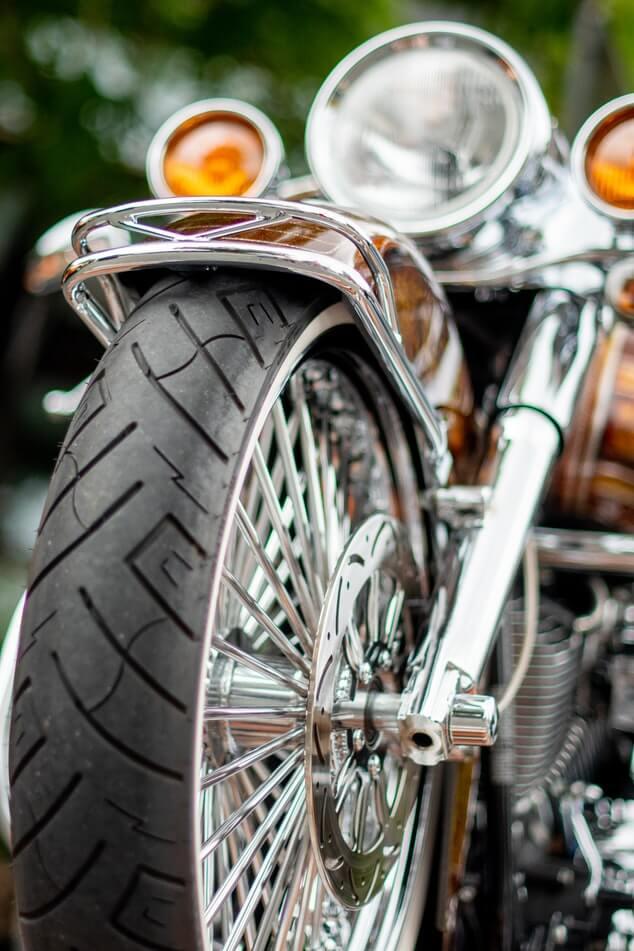 Profiltiefe Motorradreifen
