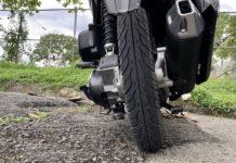 Motorradreifen Profiltiefe