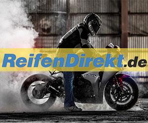 Reifendirekt Motorradreifen Banner
