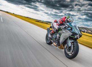 Rennstrecke Motorradreifen Test