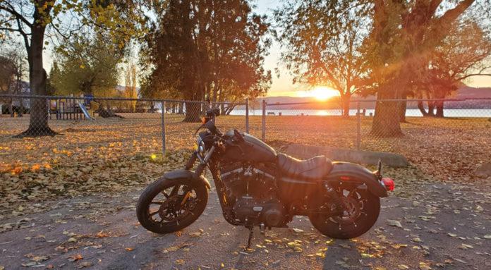 Motorradreifen für den Herbst