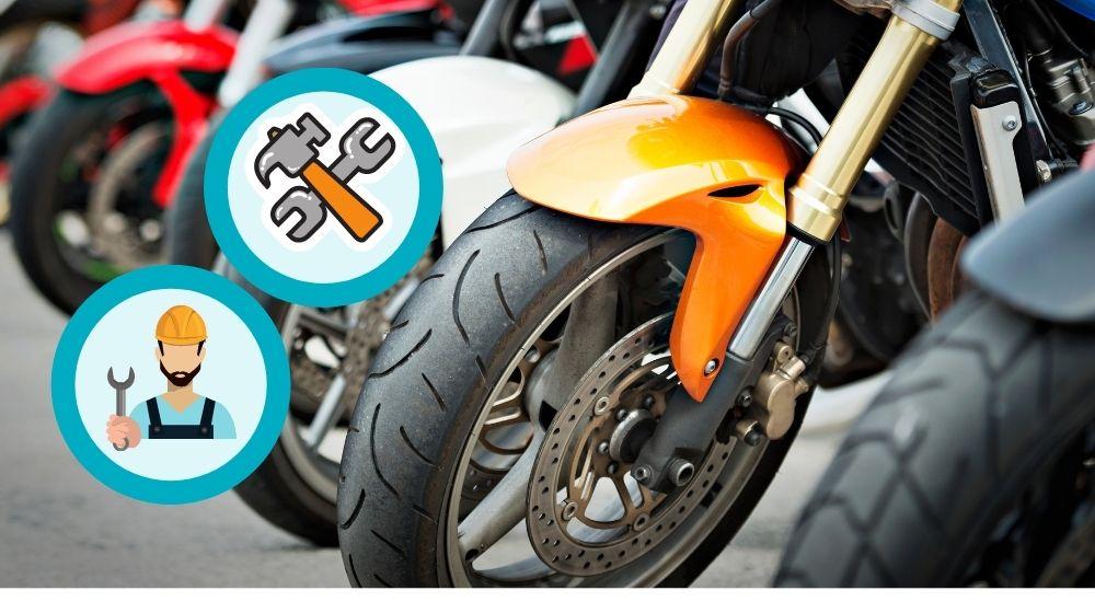 Zubehör für Motorradreifen wechseln + wuchten (DIY)